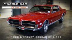 1968 Mercury Cougar GT-E 427 Muscle Car