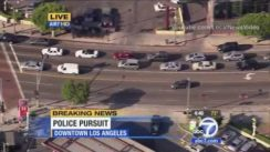 LA Police Chase with GTA Suspect