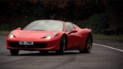 Amazing Ferrari 458 Spider Drifted Around Track