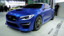 Subaru WRX Concept at the New York Auto Show