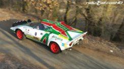 Lancia Stratos Rally Car in Action