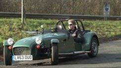 Caterham Seven 160 Road Test