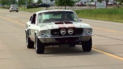 1967 Shelby GT500 Tribute 390 V8 Mustang Fastback Test Drive