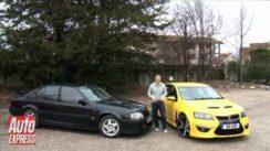 Vauxhall VXR8 vs Lotus Carlton Car Review