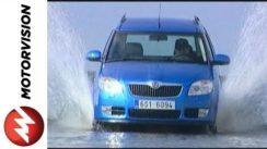 Skoda Roomster Car Review Video