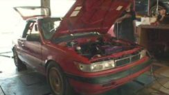 500HP 1989 Plymouth Colt Dyno & Driving