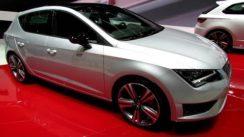 2015 Seat Leon Cupra 280 Debut at Geneva Motor Show