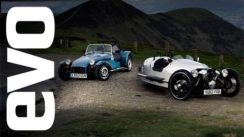 Caterham Seven 160 vs Morgan 3 Wheeler