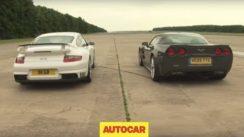 Porsche 911 GT2 vs Corvette ZR1