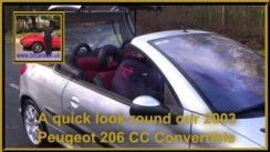 Peugeot 206 CC Convertible Quick Look
