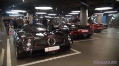 Epic Supercar Lineup in Parking Garage