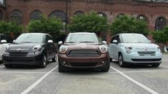 FIAT 500L vs MINI Countryman vs Scion XB vs KIA Soul vs Nissan Cube Review