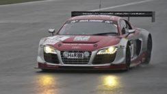 Audi R8 LMS Ultra Race Car at Nurburgring