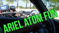 Ariel Atom vs S2000 vs Cobra Mustang Street Racing