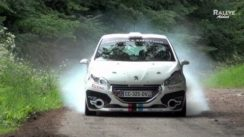 Peugeot 208 R2 Rally Car In Action
