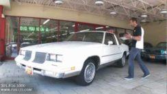 1986 Oldsmobile Cutlass Quick Look