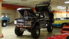 Custom Lifted Chevy S10 Show Truck