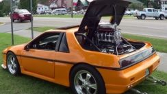 1984 Pontiac Fiero with Supercharged V-8