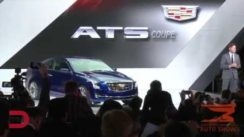 2015 Cadillac ATS Coupe Debut Video