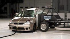 2005 Suzuki Aerio IIHS Side Crash Test Video