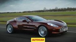 Aston Martin One-77 Test Drive