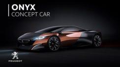 Peugeot Onyx Concept Car Video