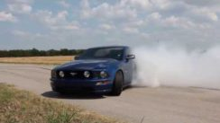 2008 Mustang GT Burnout!