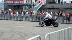 BMW Motorcycle Stunts
