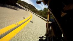 Buell Cyclone M2 Motorcycle on Mulholland Highway
