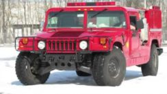 Hummer Mini Pumper Fire Truck