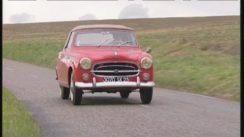 Classic Peugeot 403 Convertible