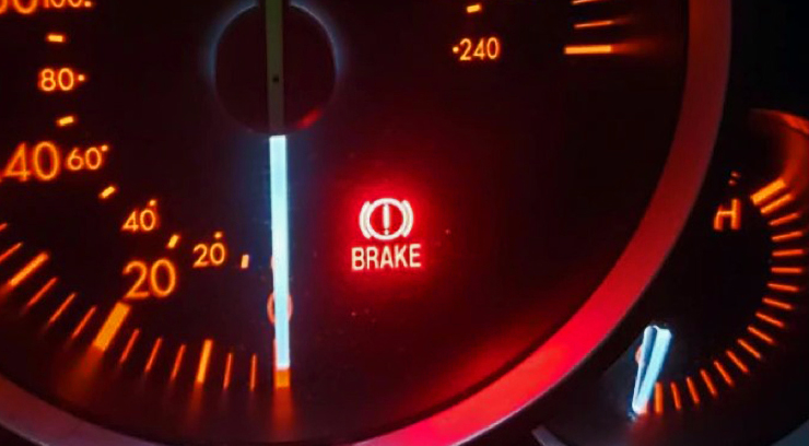 Burning Smell From Car Brakes