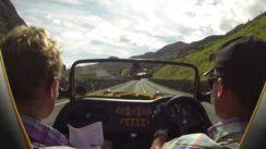 Westfield Sports Car on Llanberis Pass