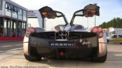 Pagani Huayra Engine Sounds