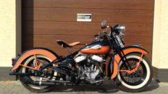 Vintage 1942 Harley Davidson WLD Motorcycle