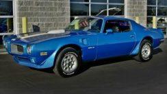 1972 Pontiac Trans Am Muscle Car