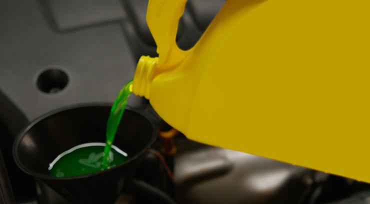 Check Car Coolant Levels