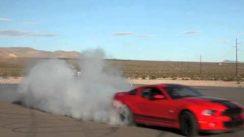 Nice Shelby GT500 Burnout