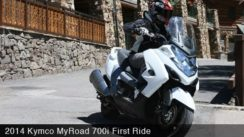 2014 Kymco MyRoad 700i First Ride