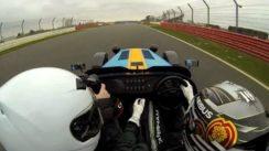 Caterham 620R lap of Silverstone with F1 driver Kamui Kobayashi
