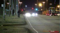Oldsmobile 442 beats Mustang in Drag Race