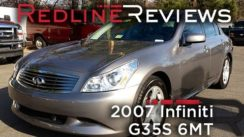 2007 Infiniti G35S Review & Test Drive