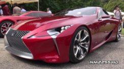 Lexus LF-LC Luxury Sports Coupe Concept Car