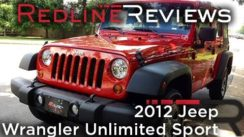2012 Jeep Wrangler Unlimited Sport Review & Test Drive