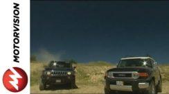 Hummer H3 vs Toyota FJ Cruiser