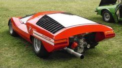 1969 Fiat Abarth 2000 Scorpio Concept Car with Amazing Sound