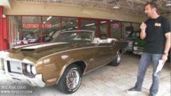 1972 Oldsmobile Cutlass 442 Convertible Test Drive
