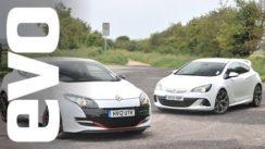 Vauxhall Astra VXR vs Renault Megane 265 Cup Drag Race