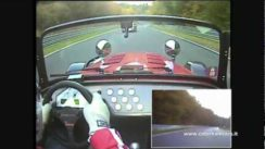 Caterham R500 vs Porsche 996 GT2 at Nurburgring