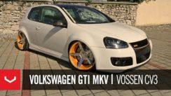 Volkswagen GTI MKV Riding on 20″ Concave Rims